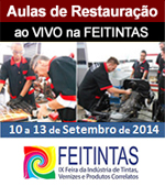 Curso - Restaura��o de Ve�culos Antigos na Feitintas 2014