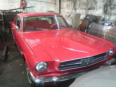 Mustang antigo a venda em curitiba